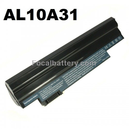 6 cell Battery for Laptop Acer Aspire One 722 AO722 D257 D257E AL10A31 AL10G31