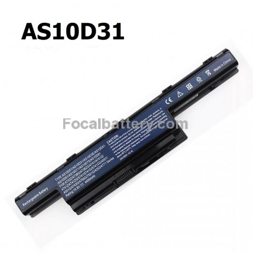 Battery AS10D31 for Laptop Acer Aspire 4253 4755g 4551 4552G 5560 D640 MS2347 MS2319
