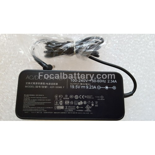For ASUS ROG G752VL G752VM G752VT Notebook 19.5V 9.23A 180W Power AC Adapter Charger