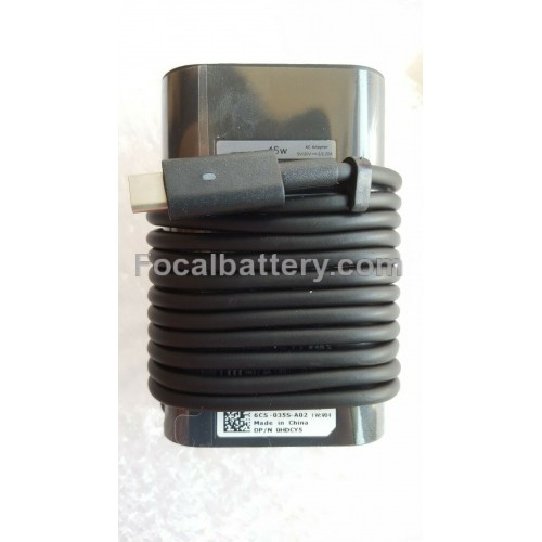 45W AC Adapter for Laptop Dell Latitude 12 7275 12 7285 12 7389 2-in-1 Notebook Battery Charger
