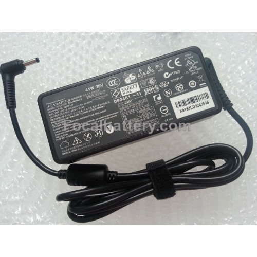 45W USB Type-C Power AC Adapter for Laptop Lenovo 100e 300e Chromebook Notebook Battery Charger