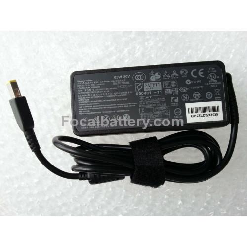 20V 3.25A 65W Power AC Adapter for Laptop Lenovo V130-15IGM V130-15IKB